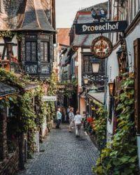 8.18 Die Drosselgasse in Rüdesheim