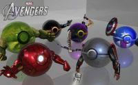 Avengers pokeballs