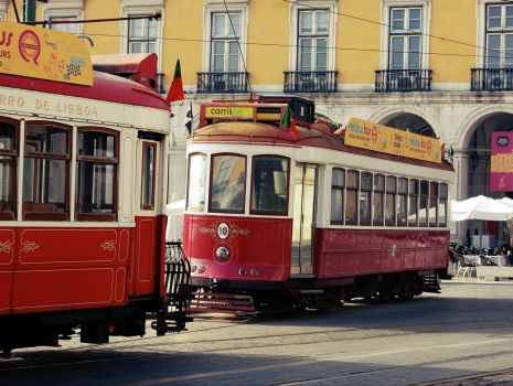 Street cars  Lisbon