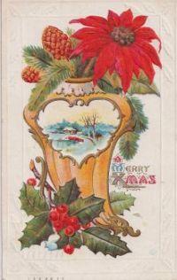 Vintage Christmas Card, 1913