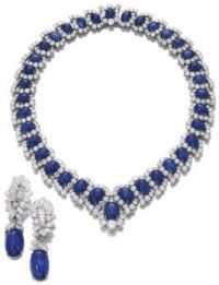 Royal Blue Sapphire Set