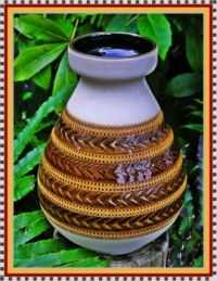 West Germany Pottery vase.