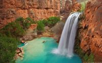 Havasu Falls. Grand Canyon, Arizona