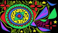 Inspired by John (Parrotman)'s Hippy painting.