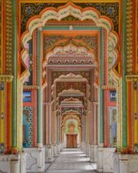 The Patrika Gate is an entranceway to the Jahawar Circle Park in Jaipur, India - History Daily