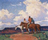 Edgar Alwin Payne (American, 1882–1947), Riders on Horseback