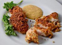 Pretzel-Crusted Chicken Fingers with HoneyMustard