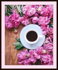 Pinknblack morning cuppa