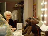 A bear in the dressing room