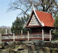 DSCF1393 Oude bouwwerk in het park Rense, uit de tijd dat het nog een Zoo was