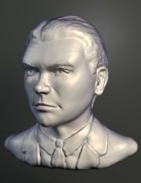Digital sculpt - James Cagney