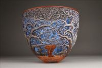 Hand-carved Wooden Bowl By Gordon Pembridge - 1
