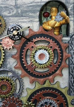 Steampunk  Clock Keeper