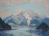 West Coast Mill by Lawren Harris