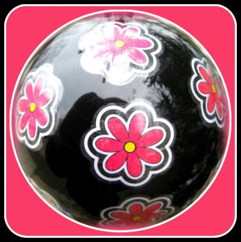 Pinknblack Christmas Ornament