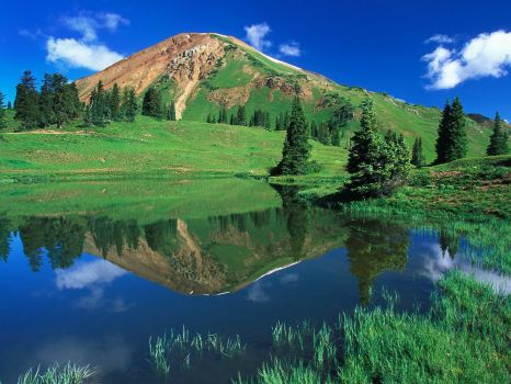 Alpine Pond, Gunnison National Forest, Colorado