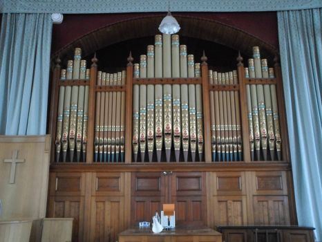 Kelton Church Organ Pipes 1