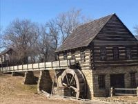 Grist Mill at Shoal Creek Living History Museum