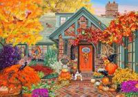 Festive October Home