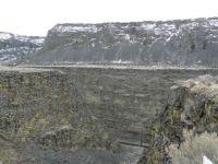 Shear Canyon Wall South Fork Boise River Idaho