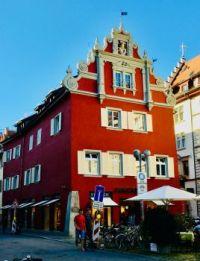 Red European Building