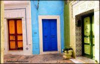 colourful neighbours, Tunisia