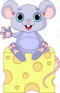 9295813-funny-mouse-sitting-on-the-piece-of-cheese