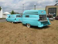1954 Ford And Trailer  2