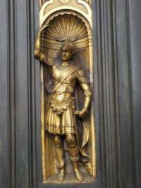 Lorenzo Ghiberti door detail