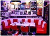 Retro Diner Banquette Seating