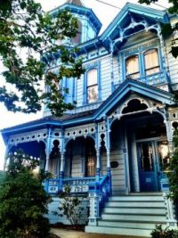 blue house to love