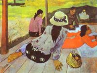 Siesta_Paul Gauguin, 1894