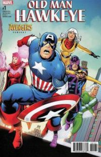 Old Man Hawkeye 1 Avengers Variant