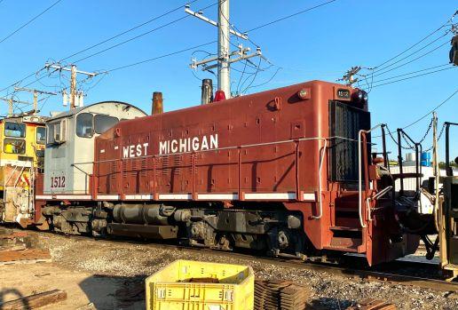West Michigan railroad SW1200