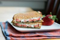Strawberry Basil Panini