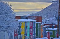 St. John's, NL    Snow on the Rooftops