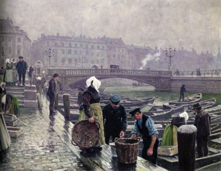Ved Gammel Stand by Paul Gustave Fischer
