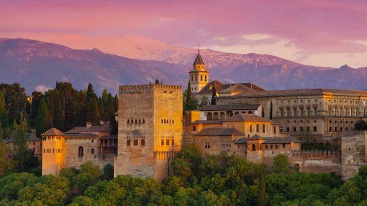 Monastery in Granada, Spain