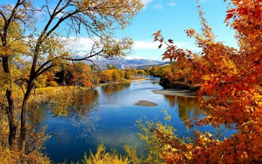 Fall colors along the Okanogan River