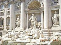 Rome, Trevi Fountain-1, July 2007 Italy trip