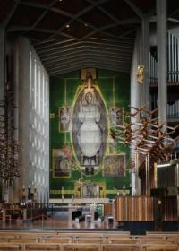 Coventry Cathedral - 'Christ in Glory' tapestry