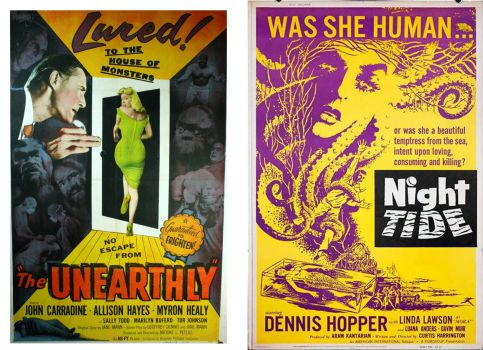 The Unearthly ~ 1957 and Night Tide ~ 1961
