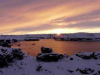 Sunset over Myvatn  Iceland