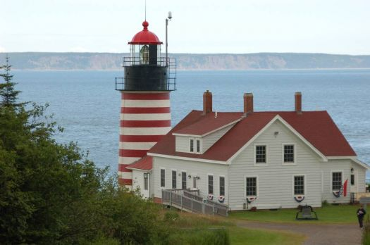 West Quoddy Head Light Lubec, Maine