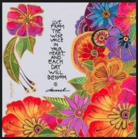 A card from Laurel Burch
