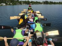 Dragon Boating in northern BC