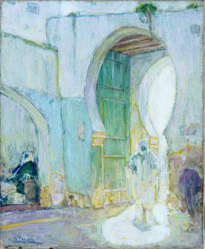 Gateway,Tangiers, Henry Ossawa Tanner