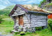 Sheppards Hut In Norway