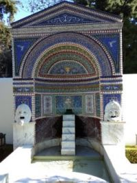 Shrine at the Getty Villa