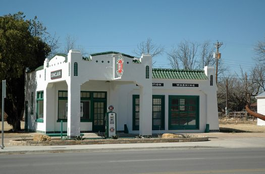 Old Texas Sinclair Station
